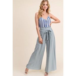New arrival. Sage wide leg pants